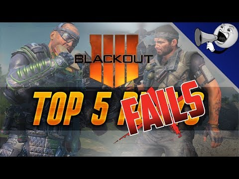 Call of Duty Blackout Top 5 Fails #5: Joined Match In Progress?! (BO4 Blackout) thumbnail