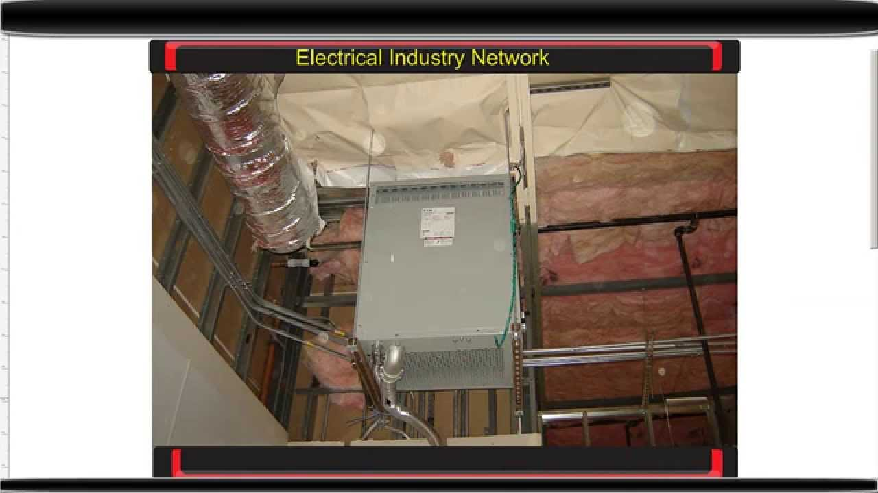 Installing A 550lb Transformer Above A Drop Ceiling Youtube