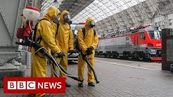 Moscow enters partial Covid lockdown amid rising numbers - BBC News