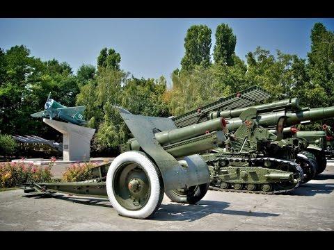 VLOG. Музей военной техники под открытым небом 411 батарея. The Museum of military equipment.
