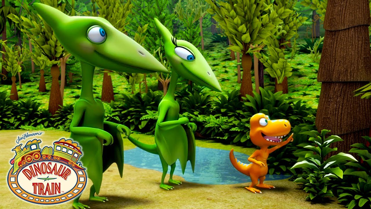Buddy's Search For A Calm Space | Dinosaur Train