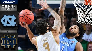 North Carolina vs. Notre Dame Men's Basketball Highlights (2019-20)