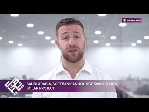 Saudi Arabia, SoftBank announce $200 billion solar project