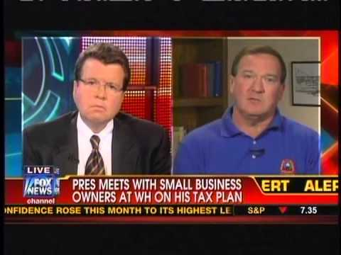 Bakery owner angry with Obama's treatment of small businesses.