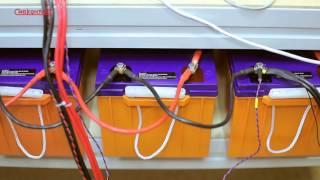 Зарядное устройство для аккумуляторов. Съемка рекламных презентационных роликов в Новосибирске(