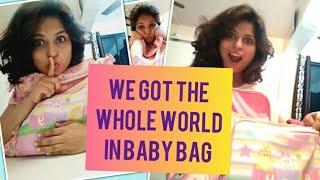 Secret of Big Baby Bag Revealed | Whole world in Baby Bag : Mother