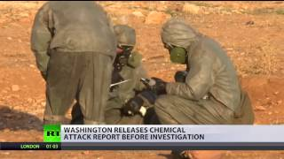 Russia & Syria 'false narrative'  US release chem attack report, blame Moscow for 'sowing doubt'