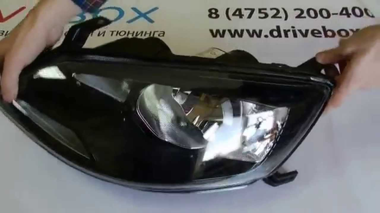 Новые фары для Lada Priora. Оптика Laser Lights. LED Headlights .
