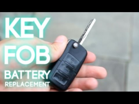 How To Replace A Vw Key Fob Battery Youtube