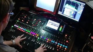 Behringer X32 - Live & In Use - Chris Tomlin 'Whom Shall I Fear'