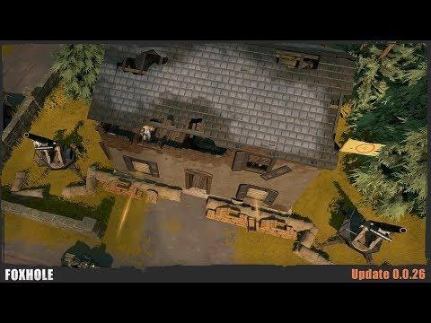 Howitzers & Factories - Foxhole (Update 0.0.26) |