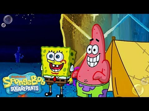The SpongeBob Face-Off: Krusty Krab Training Video 🍔vs. The Camping Episode🏕️ | #FunniestFridayEver