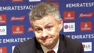 Manchester United 2-0 Reading - Ole Gunnar Solskjaer Full Post Match Press Conference - FA Cup