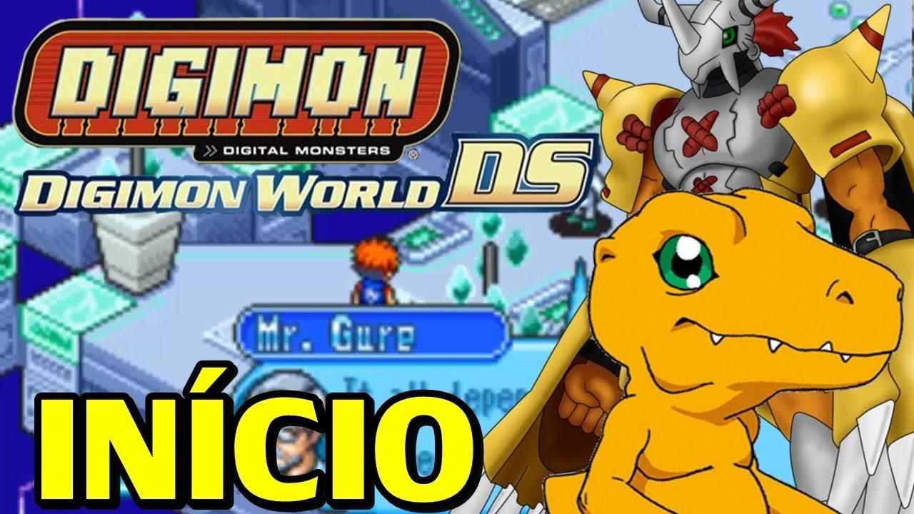 Digimon World DS (Nintendo DS) - O Início