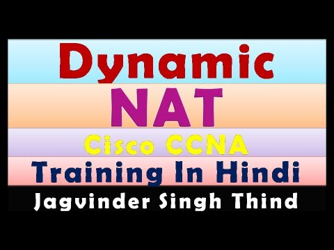 Dynamic NAT Configuration On Packet Tracer In Hindi - Cisco NAT PAT - Part 3