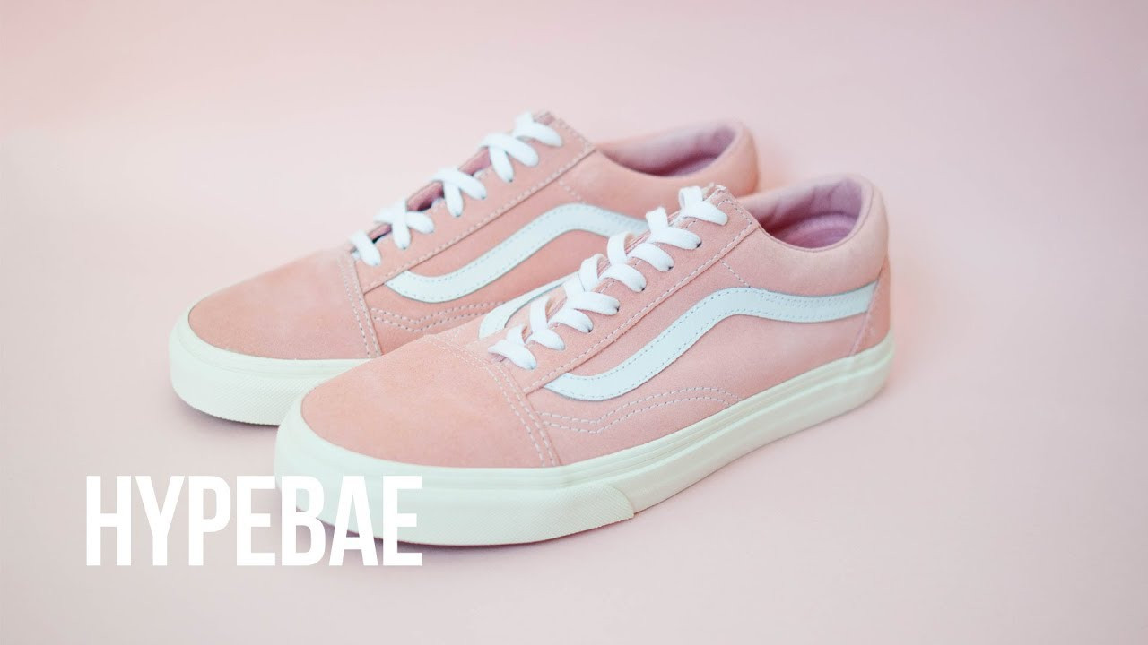 Pink Vans Old Skool Retro Sport
