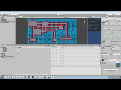 Unity 3d: TileMaps – Part 11 – Procedural Dungeon Maps (Roguelike)