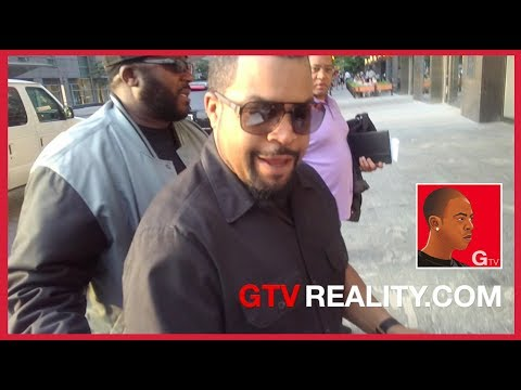 "Ice Cube says ""You stay black!"" on GTV Reality"