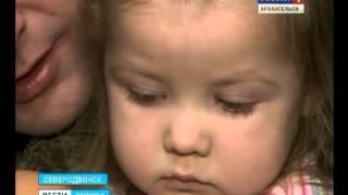 Российская медицина оказалась бессильна - Викторию Елагину спасли израильские медики(Маленькая Вика Елагина вернулась домой из израильской клиники. Там девочке лечили тяжёлое заболевание..., 2014-12-05T11:05:07.000Z)