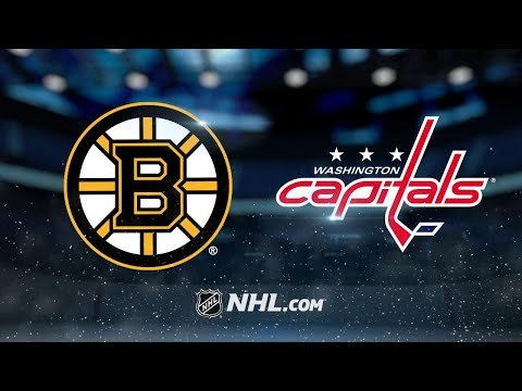 Connolly, Ovechkin help Capitals top Bruins, 4-3