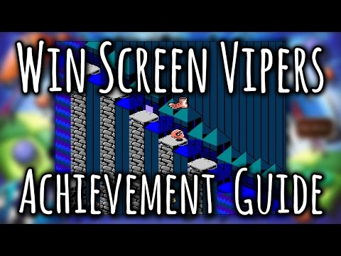 Rare Replay - Win Screen Vipers Achievement Guide All Snake Rattle N Roll Snapshots