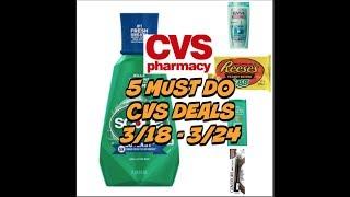5 MUST DO CVS DEALS 3/18 - 3/24 ~ Freebies!  👍