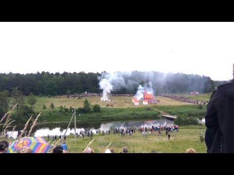Реконструкция сражения при Фридланде 1807 года.Правдинск. Фридланд. Фридландское сражение