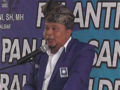 CSMTV Sambas Pengukuhan DPD PAN Sambas