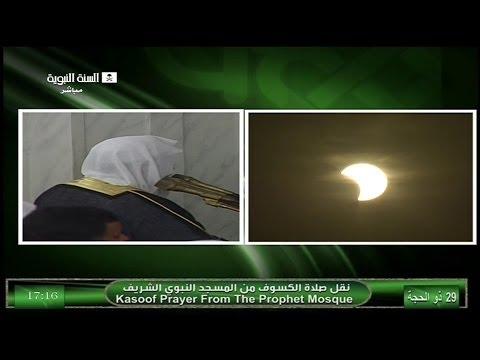 Madinah Solar Eclipse Prayers 3rd November 2013 Sheikh Ahmad Talib