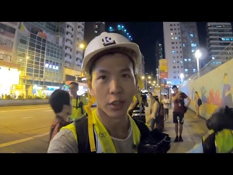 Exclusive: Canadian Tourist Gets Threats Over Vlog About Hong Kong Chaos