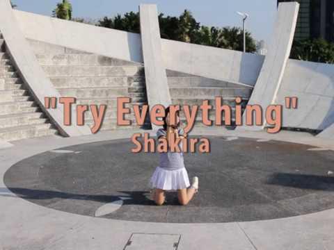 Try Everything (Shakira) Easy Steps for children