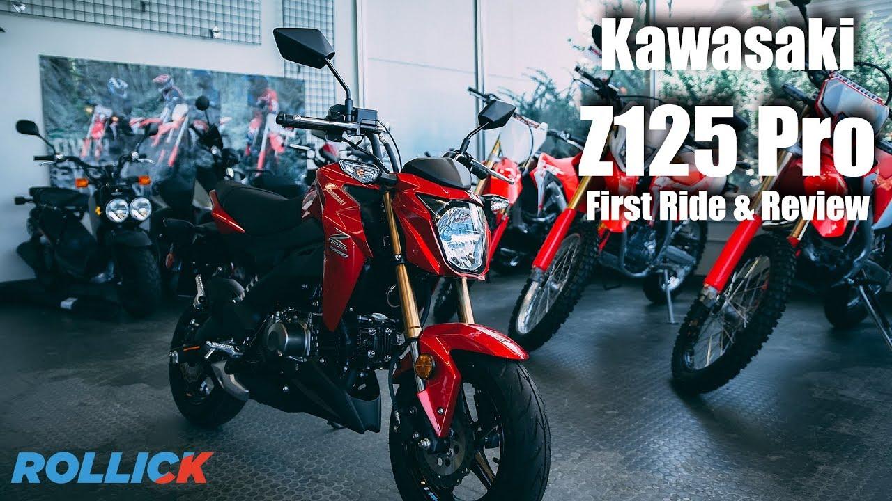2018 Kawasaki Z125 Pro Review and First Ride   GoRollick