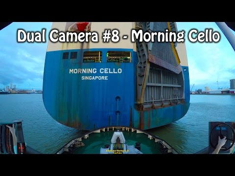 Tugboat Dual Camera #8 - Voith Schneider Controls - Morning