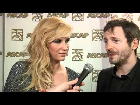 Dr. Luke and Ke$ha at the 2011 ASCAP Pop Music Awards in LA