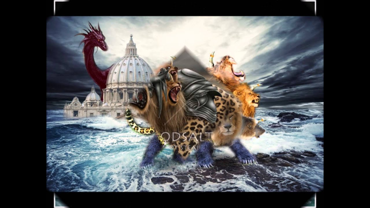 Revelation 13: The Beast From the Sea/ Beast From the ...