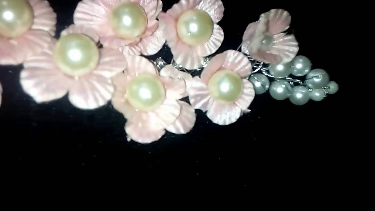 Diy hair accessories for weddings - Diy Hair Accessories For Parties Engagement Wedding And Birthday