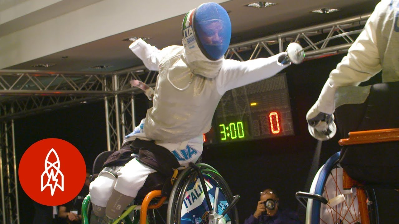 This Fencer Won Gold With No Hands or Legs