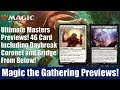 MTG Ultimate Masters Previews: 46 Cards Revealed Including Daybreak Coronet and Bridge From Below