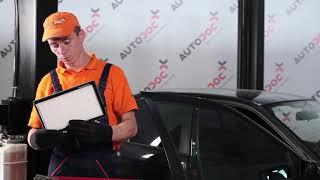 Comment changer Filtre climatisation BMW 3 Compact (E36) - video gratuit en ligne