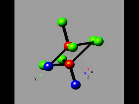 Rotating Molecule