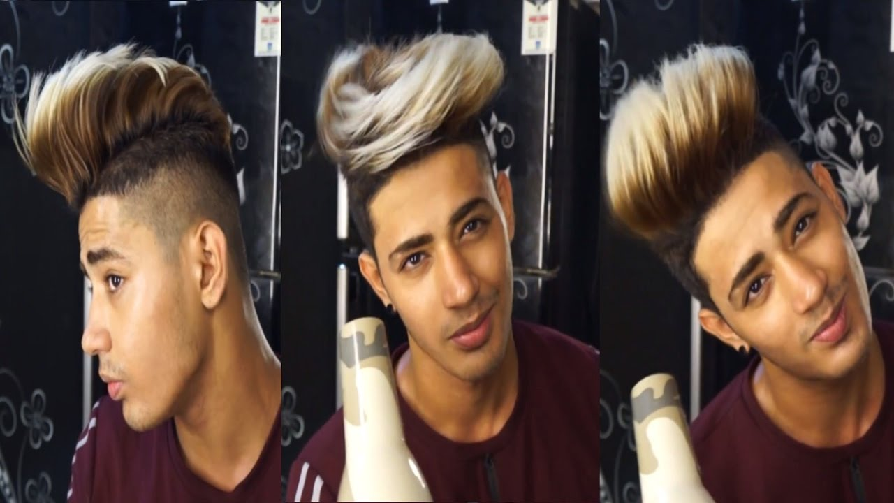 How To Style Your Hair Within 3 Minutes | Hairstyle for Men