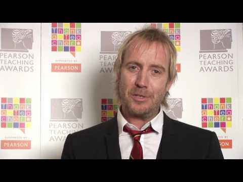 Rhys Ifans thanks a teacher