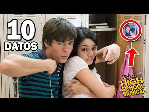 10 Cosas que no Sabias de High School Musical La Película