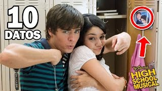 10 cosas que no sabias de high school musical la pelcula