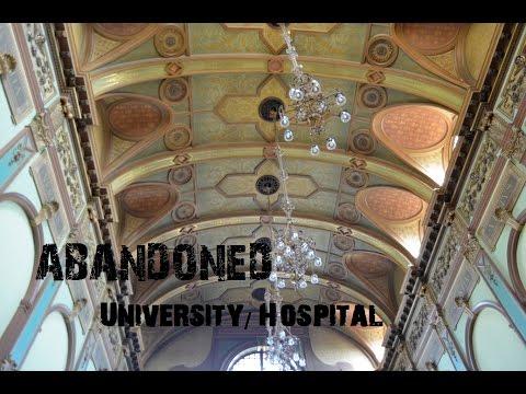 Abandoned University/Hospital - Amazing Hallway! Urbex - Urban Exploration