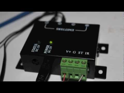 IR Extender installation tutorial on
