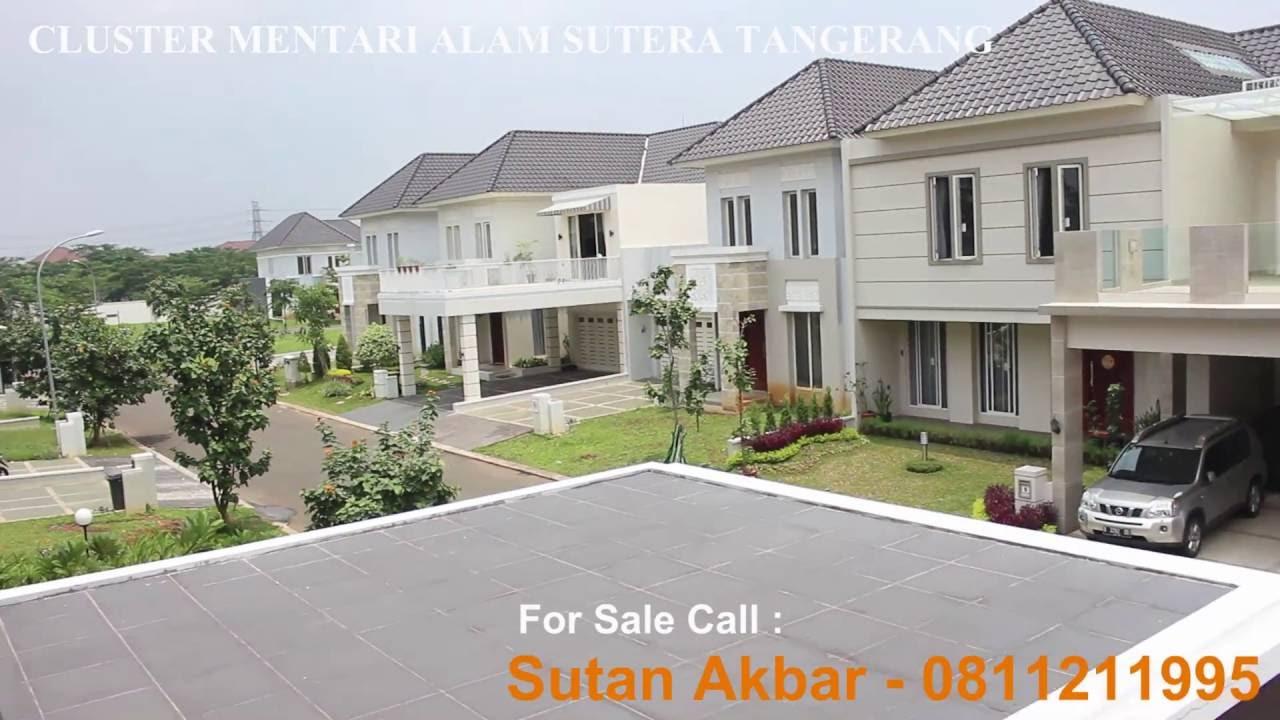 For Sale Rumah Cluster Mentari Alam Sutera Tangerang - YouTube