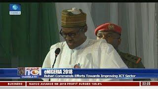President Buhari Declares eNigeria 2018 Conference Open
