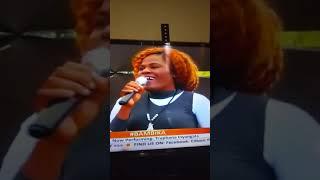 TRUPHENA INYANGALA  Performing Mungu saidia live on Bambika citizen TV