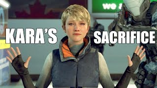 """Detroit Become Human - """"What Happens If"""" Kara Sacrifices Herself At The Canadian Border"""